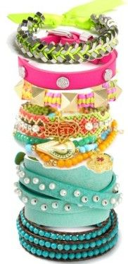 Neon Stacking ♥✤ | Keep the Glamour | BeStayBeautiful