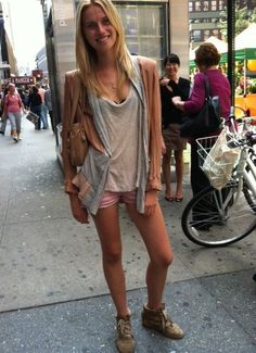 Isabel Marant shorts & sneakers