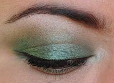 365 Days of Eyeshadow, green eyeshadow.
