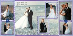 Scrapbook Wedding - how to create an album
