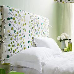 Fern green and white bedroom | housetohome.co.uk | Mobile