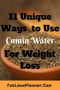 Top ways to use Jeera Water for weight loss unique ideas) Cumin in Hindi is also known as Jeera. In india it is extremely common to use jeera water for weight loss and to treat multiple health ailments. Here are my top 11 ways to use Cumin water for we Weight Loss Water, Weight Loss Drinks, Healthy Detox, Healthy Drinks, Healthy Recipes, Diet Drinks, Juice Recipes, Stay Healthy, Full Body Detox