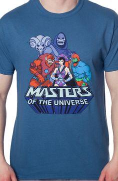 Snake Mountain Crew Masters of the Universe Shirt: He-Man Shirt