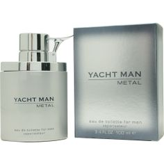 Yacht Man Metal By Myrurgia Edt oz/men/: EDT SPRAY OZ Design House: Myrurgia Year Introduced: 2004 Fragrance Notes: Leather Combined With Tobacco Recommended Use: Casual Vanilla Perfume, Best Fragrances, Best Perfume, Perfume Collection, Skin Care Tools, Body Spray, Smell Good, Sprays, Perfume Bottles