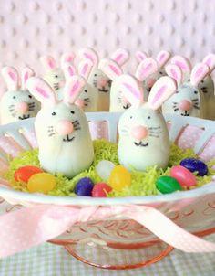 Thin Mint Bunny Truffles....LOVE these!