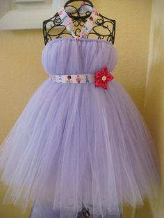 Doc Mcstuffin tutu dress - Totally love this!