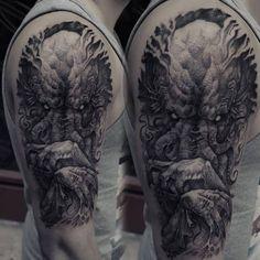Tattoo Horror Fantasy Monster Ideas Tattoo Designs Cthulhu Tattoo Tattoo Designs Men Tattoos For Guys
