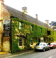 The Wheatsheaf, Northleach (a 15 minute drive from Upper Slaughter). Stylish but relaxed bolt hole with wholesome local dishes such as Gloucester Old Spot chops. Great Places, Places Ive Been, English Village, Local Events, English Countryside, United Kingdom, Places To Visit, England, Travel