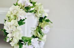 dreamy white and green flower crown/wedding flowers  www.anemoneflowers.com.au