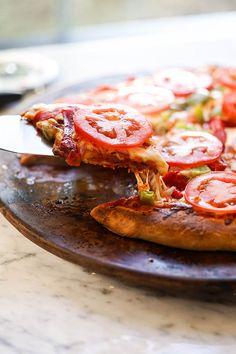 Pizza Soup, Pizza Bake, Pizza Recipes, Dinner Recipes, Frozen Bread Dough, Easy Pizza Dough, Vegetarian Pizza, Making Homemade Pizza, Dinner Rolls Recipe