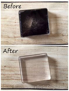 Learn step-by-step how to clean blocks stained with permanent ink!