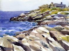 Cape Ann — Shari Blaukopf Watercolours
