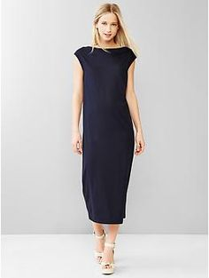 Muscle midi dress | Gap