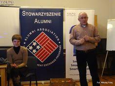 Jacek Nieckuła - Prezes American Alumni - patrona SATClass otwiera warsztaty