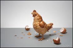 La gallina de los huevos