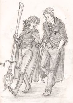 Rose and Scorpius by Catching-Smoke.deviantart.com on @deviantART