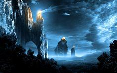 3D Fantasy Places HD Wallpaper | Free HD Desktop Wallpaper ...