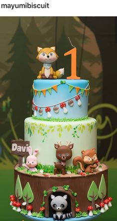 Baby Shower Cake Woodland Theme Mushroom Cupcakes 52 New Ideas Animal Birthday Cakes, First Birthday Cakes, Birthday Kids, Birthday Parties, Women Birthday, Birthday Table, Mushroom Cupcakes, Woodland Cake, Woodland Theme