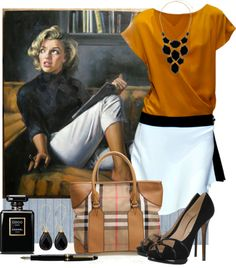 """""""Marilyn ..."""" by leegal57 ❤ liked on Polyvore"""