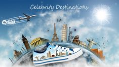 Casual high quality canvas shoes with famous destinations from around the world. All Over The World, Around The Worlds, Canvas, Celebrities, Tela, Celebs, Canvases, Celebrity, Famous People