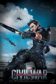 Hawkeye - Civil War