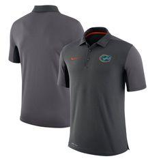 Florida Gators Nike Two-Tone 2017 Team Issue Dri-FIT Polo - Anthracite
