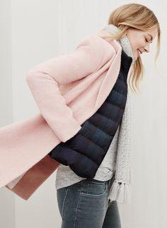 Blush jacket from LOFT.