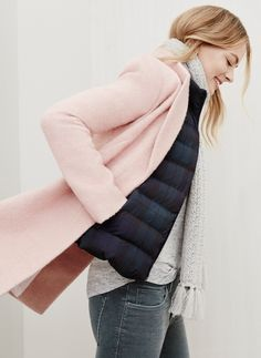 Blush jacket from LOFT.