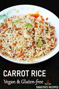 Rice Recipes, Indian Food Recipes, Beef Recipes, Whole Food Recipes, Ethnic Recipes, Vegetable Curry, Vegetable Recipes, Gluten Free Vegetarian Recipes, Healthy Recipes