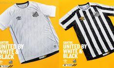 Santos FC 2021/22 Umbro Home and Away Kits