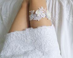 LUXURY wedding garter by WeddingBoutiqueBride on Etsy Wedding Garters, Luxury Wedding, Lace Shorts, Bride, Trending Outfits, Unique Jewelry, Handmade Gifts, Etsy, Beautiful