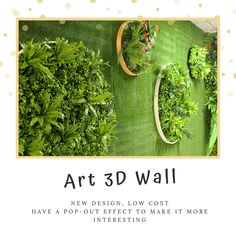 As a novel form of artificial plant decoration, artificial plant disk combines plants with picture frames.It's more flexible and space-saving than a potted plant, and more alive than a picture frame.