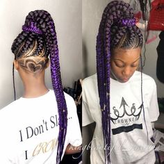 Individual braids with undercut braids hairstyles for an ultimate princess look the undercut braids hairstyles princess ultimate undercut feed in braids with undercut Baddie Hairstyles, Undercut Hairstyles, Weave Hairstyles, Haircuts, Protective Hairstyles, Protective Styles, African Hairstyles, Trendy Hairstyles, Feed In Braids Ponytail