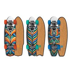 BEASTMAN Collab with Element _ Series of cork top cruiser boards