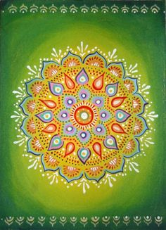 #mandala...perfect color combo