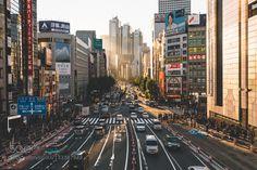 Shinjuku sunset - Pinned by Mak Khalaf City and Architecture BeautyNatural Lightarchitecturecanon5dmkIIIcitycityscapejapanlightshinjukustreetstreet photographysunsettokyourban by 446i