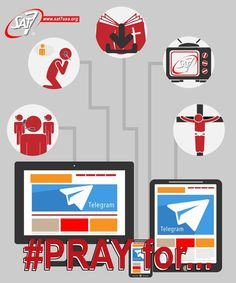 Our latest media tool #Telegram, is a HUGE success!#Pray for its continued prosperity.