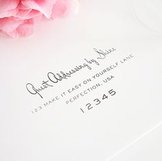 how to address wedding invitations | 21st - Bridal World - Wedding Lists and Trends
