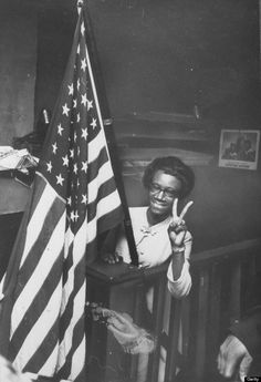 """""""I want history to remember me not just as the first black woman to be elected to Congress, not as the first black woman to have made a bid for the presidency of the United States, but as a black woman who lived in the 20th century and dared to be herself."""" Shirley Chisholm 1968"""