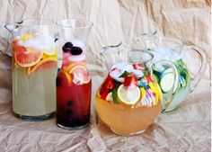 lemonade stand...i made these the other day I think the lemon and orange plus the blackberry and lemon are the best