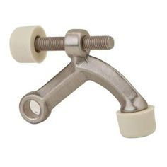 Schlage Satin Nickel Hinge Pin Door Stop - I need at least 7 of these!