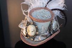 Feathers, brooches, and ribbons - oh my! Come make your Rococo hat with Bart!