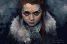 Arya Stark of Winterfell by venellah.deviantart.com on @deviantART