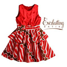 Red Dress – and the story goes. Baby African Clothes, African Dresses For Kids, African Kids, African Print Fashion, African Fashion Dresses, Little Girl Fashion, Kids Fashion, Ankara Styles For Kids, Dress Anak