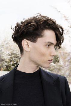 Foto Taglio capelli mossi uomo inverno 2017