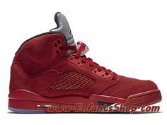 1c1a318a8015 Air Jordan 5/V Retro Flight Suit 136027-602 Chaussures Nike 2017 Pas Cher