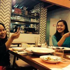 fun filled dinner :-)