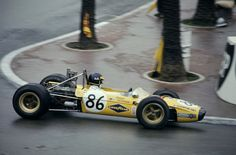 Ronnie Peterson, Tecno, Monaco F-3  GP