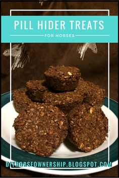 DIY: How to Make Horse Treats to hide pills in - or just yummy horse treats.