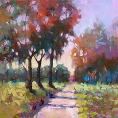 Beginnings by Trisha Adams Oil ~ 30 x 30